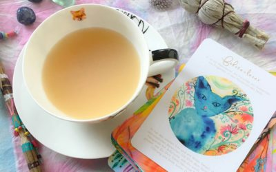 Teetrinken und Begleitung spüren